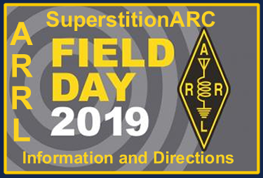 Superstition ARC Field Day 2019 Location Information