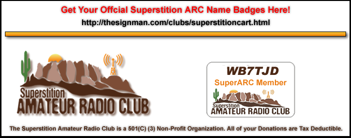 Superstition ARC Official Name Badges are available Here